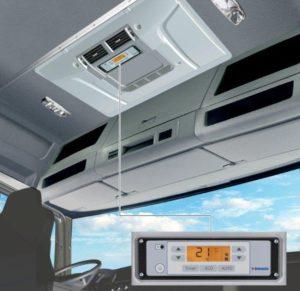 Jak działa i jak jest zbudowana klimatyzacja postojowa ciężarówek?