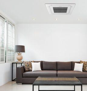 Klimatyzatory kasetonowe jednostronne  – funkcje systemu chłodzenia